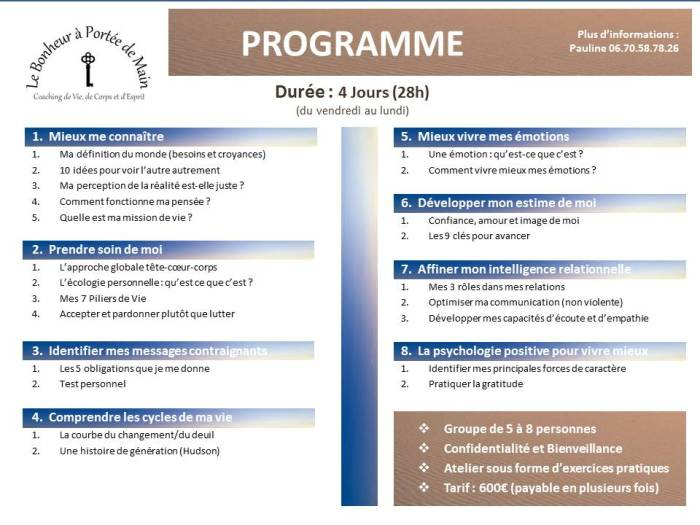 formation developpement personnel p3